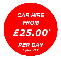 Car Hire from £29.99