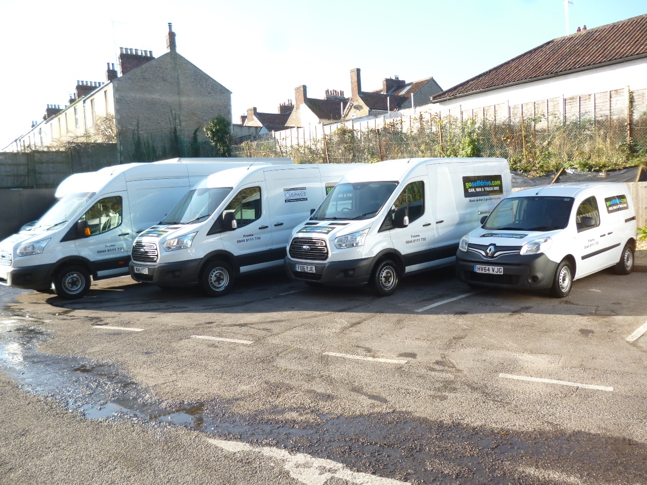 Here at go self drive we offer small cars from 30 00 day a wide range of vans from 45 00 day people carriers and even trucks