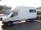 Luton Van with Tail Lift Hire, Frome, Somerset